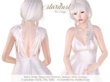 Stardust - Starry - White Tattoo (WEAR ME)