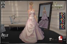 Sage- Belle Gown vs.2
