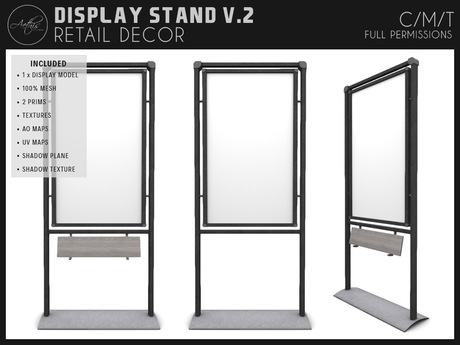 [AC] Modern Display Stand V.2