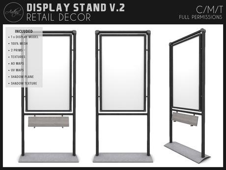 [AC] Modern Display Stand V.2