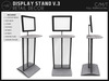 [AC] Modern Display Stand V.3 - Crate