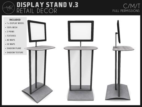 [AC] Modern Display Stand V.3