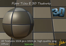 JU Floor Tiles E 3D Textures Full Perm