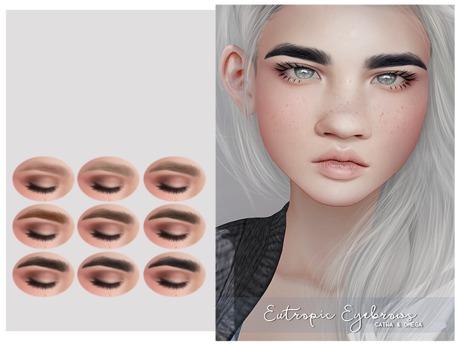 [okkbye] Eutropic Eyebrows (CATWA/OMEGA)