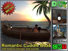 Romantic Cuddle Boat