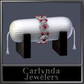 Platinum Ruby Bracelet