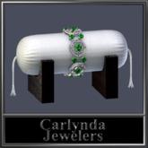 Platinum Emerald Bracelet