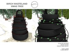 .Birch Wasteland Xmas Tree