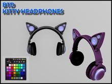 Kitty Headphones (DJ) [With HUD]