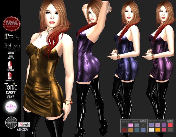 M&M-FARAH DRESS HUD-E17