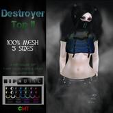 .HIPNOTIC. Destroyer Top II  (BOXED)