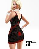 XK Maitreya Flapper Dress Red
