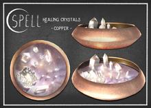 SPELL : Healing Crystals {copper}