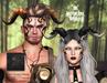 .{PSYCHO:Byts}. Armor Dragon Horns - Onyx