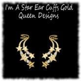 Im A Star Ear Cuffs Gold