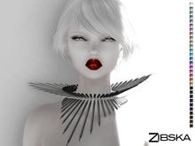 Zibska [50L Closeout] ~ Viv Color Change Spike Collar