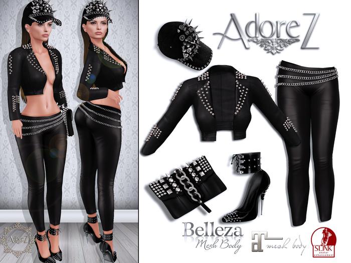 AdoreZ-Kenya Black Outfit