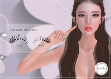 [Luv:Ya]Eye Lashes_el.001(for catwa)