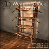 [DDD] Weapon Rack - Bow