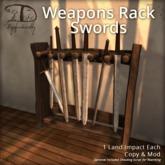 [DDD] Weapon Rack - Swords