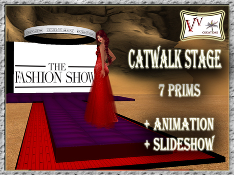 PROMO! Catwalk stage (catwalk animation, slideshow)