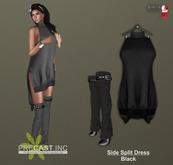 PRECAST Inc. - Side Split Dress - black