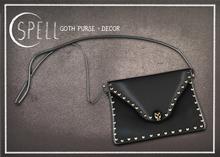 SPELL : Goth Purse  - Decor