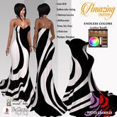 AmAzInNg CrEaTiOnS Bustier Gown Dress 05