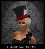 CMORE - Mad Hatter Hat