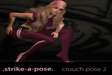 .strike-a-pose. crouch pose 2