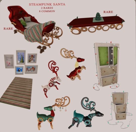 Candy Crunchers - Steampunk Carpet