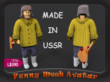 MAN FROM THE USSR