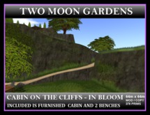 CABIN ON THE CLIFFS - IN BLOOM - FURNISHED*