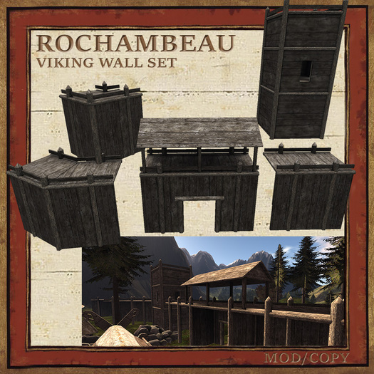 Rochambeau Viking Wall Set