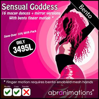 BENTO- 16 Sensual Goddess Dances - Abranimations *