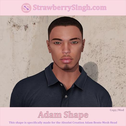 StrawberrySingh.com Adam Shape