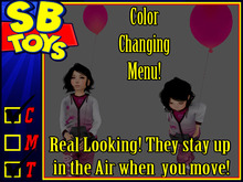 [SB TOYS] Mesh Rigged Balloon w/ Color Changer