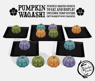 Schadenfreude Pumpkin Wagashi