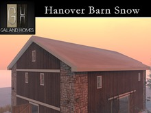 Hanover Barn Snow Add On Package