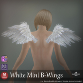 ::: B@R ::: White Mini B-Wings (BENTO)