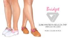 ILLI - [SLink,TMP,Maitreya,Belleza] Bridget Boat Shoes (HUD Driven)