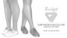 ILLI - [SLink,TMP,Maitreya,Belleza] Bridget Boat Shoes DEMO