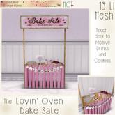 ~ASW~ The Lovin' Oven Bake Sale