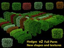 Hedges Pack v2 - Full Perm