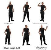 Verocity - Ethan Pose Set