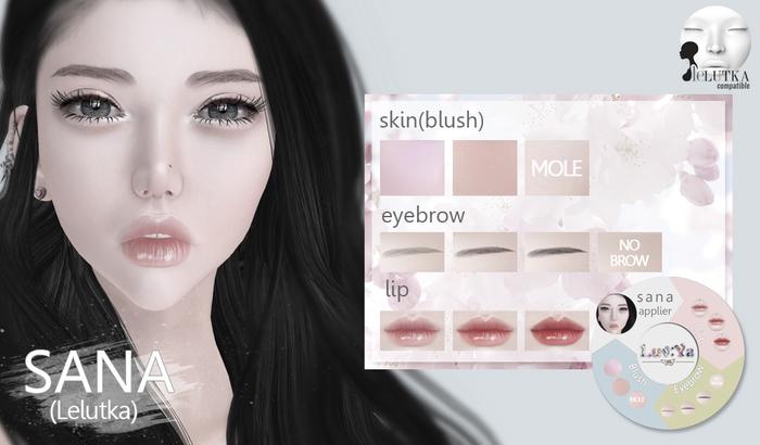 [Luv:Ya] SANA skin DEMO (for Lelutka)
