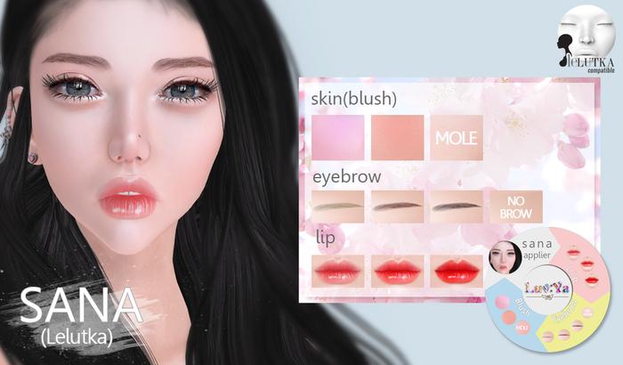 [Luv:Ya] SANA skin applier (for Lelutka)