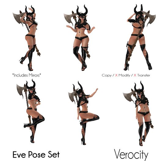 Verocity - Eve Pose Set