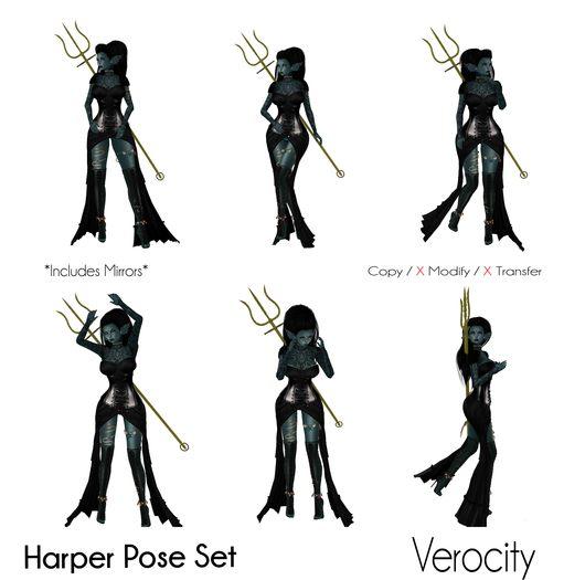 Verocity - Harper Pose Set