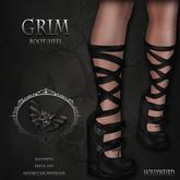 .HW. Grim .Boot/Heel. (wear)